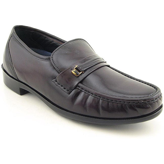 Bostonian Men's Prescott Burgundy Dress Shoes Wide