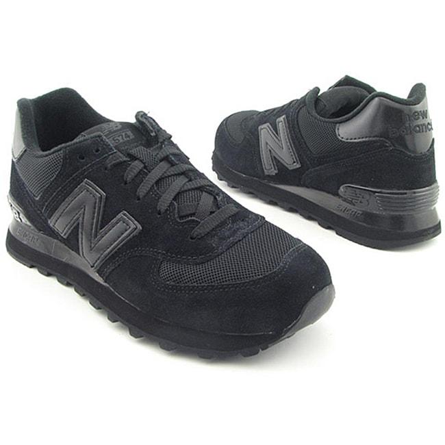New Balance Men's M574 Black Casual Shoes