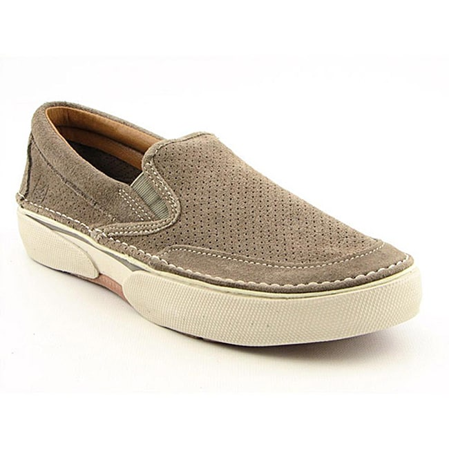 Sperry Top Sider Men's Largo Slip On Brown Casual Shoes (Size 7.5)
