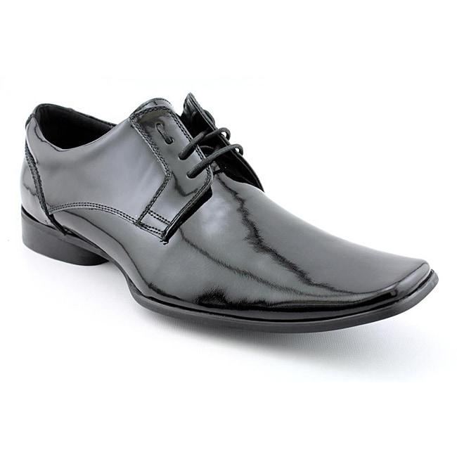 Shop Kenneth Cole Reaction Mens Event Shoely Black Dress Shoes