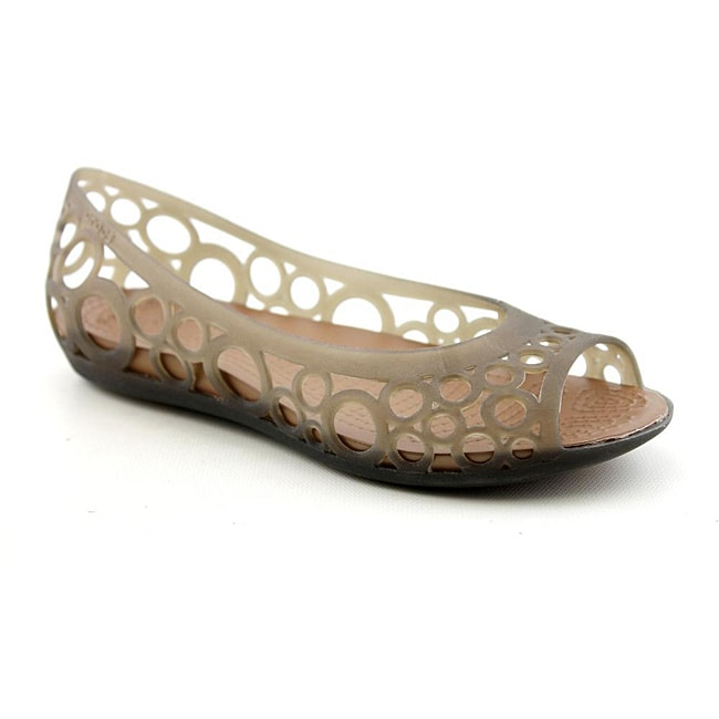 5765b275e0ac Shop Crocs Women s Adrina Flat Brown Casual Shoes (Size 5) - Free Shipping  On Orders Over  45 - Overstock.com - 6759706