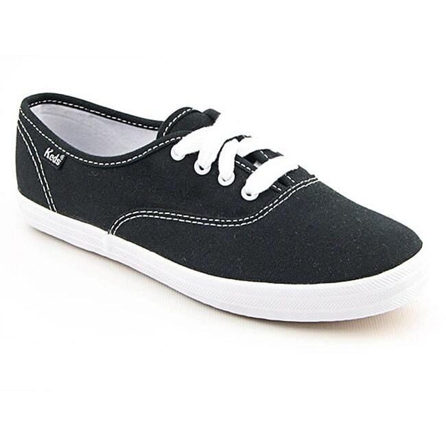 Keds Women's Champion Black Casual Shoes (Size 9.5)