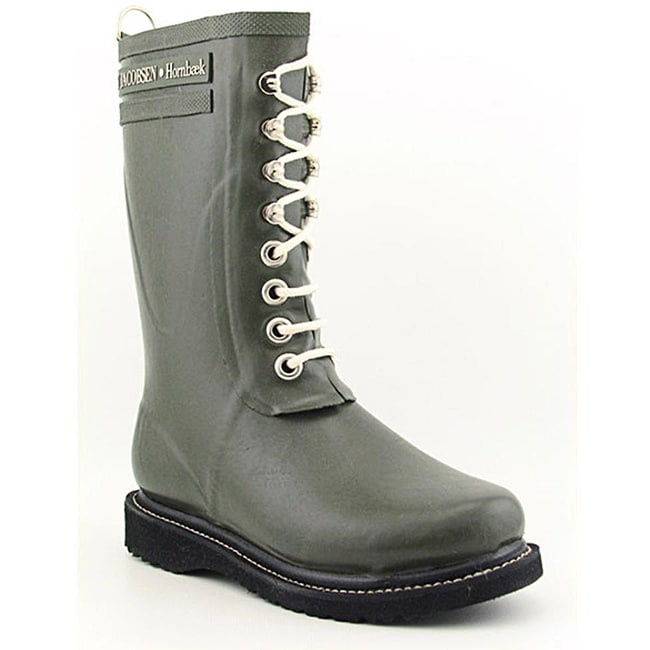 fa5b763f0c4 Shop Ilse Jacobsen Hornbaek Women's Rub15 Green Boots (Size 7) - Free  Shipping Today - Overstock - 6760024