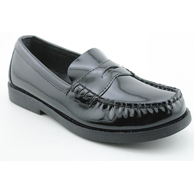 Sperry Top Sider Boy's Colton Black Dress Shoes - Thumbnail 0