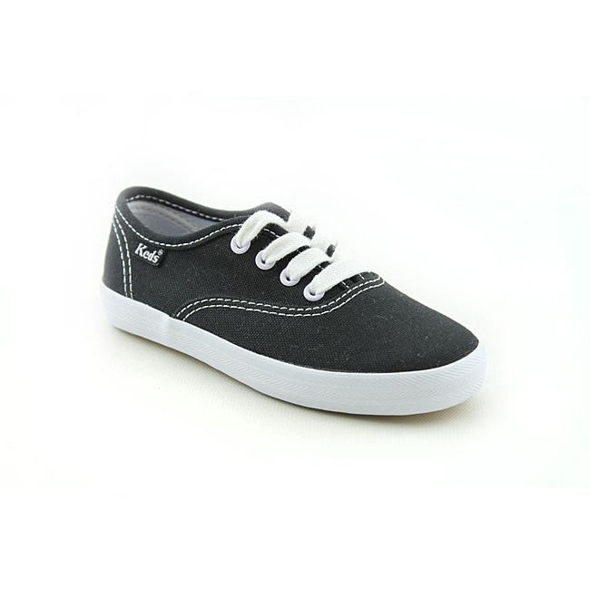 69b9d9ff299f2 Shop Keds Girl s Original Champion CVO Black Casual Shoes - Free Shipping  On Orders Over  45 - Overstock - 6760140