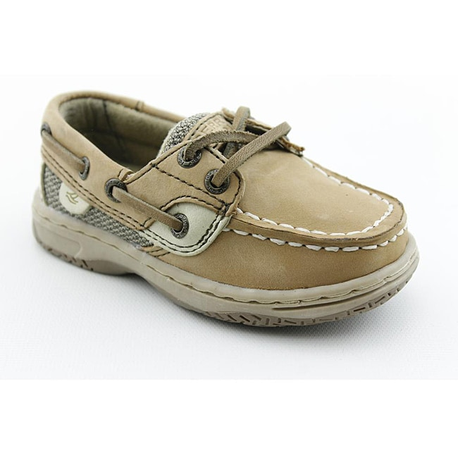 Sperry Top Sider Boy's Bluefish Beige Casual Shoes - Thumbnail 0