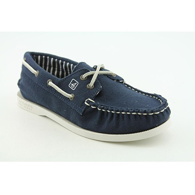 Sperry Top Sider Girl's A/O Blue, Navy Blue Casual Shoes
