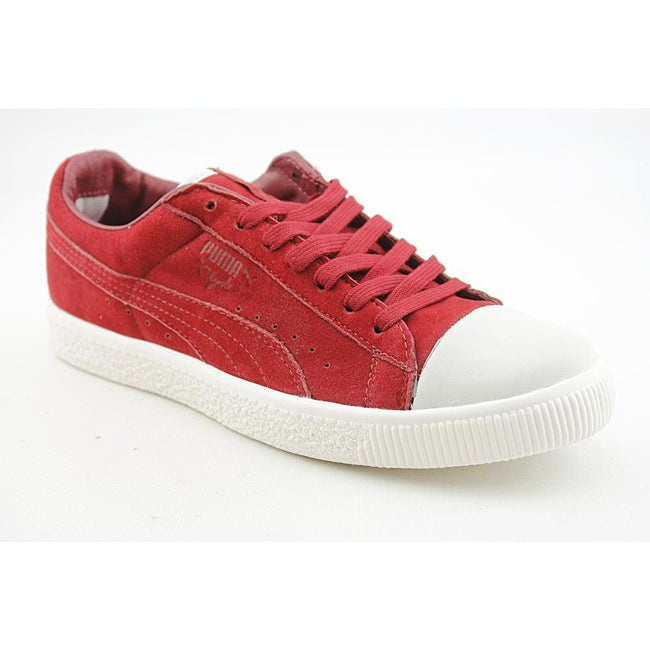 Puma Men's Clyde X Undftd Coverblock Red Casual Shoes