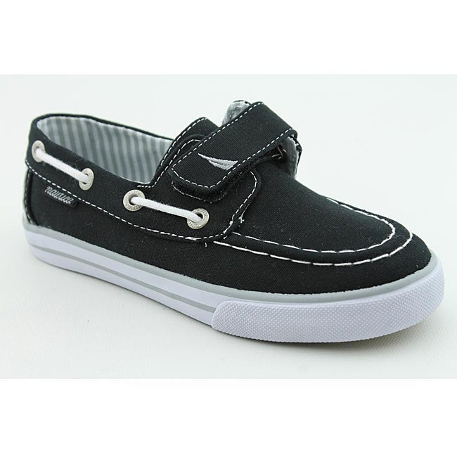 Nautica Boy's Little River Black Casual Shoes