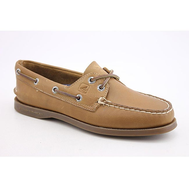 Sperry Top Sider Women's A/O 2 Eye Brown Casual Shoes Narrow