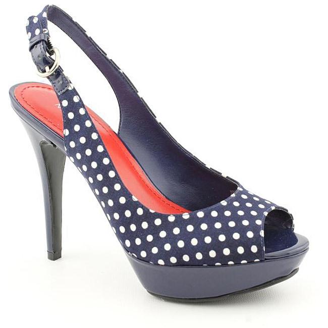 Nine West Women's Bigspender Blue, Navy Blue Sandals