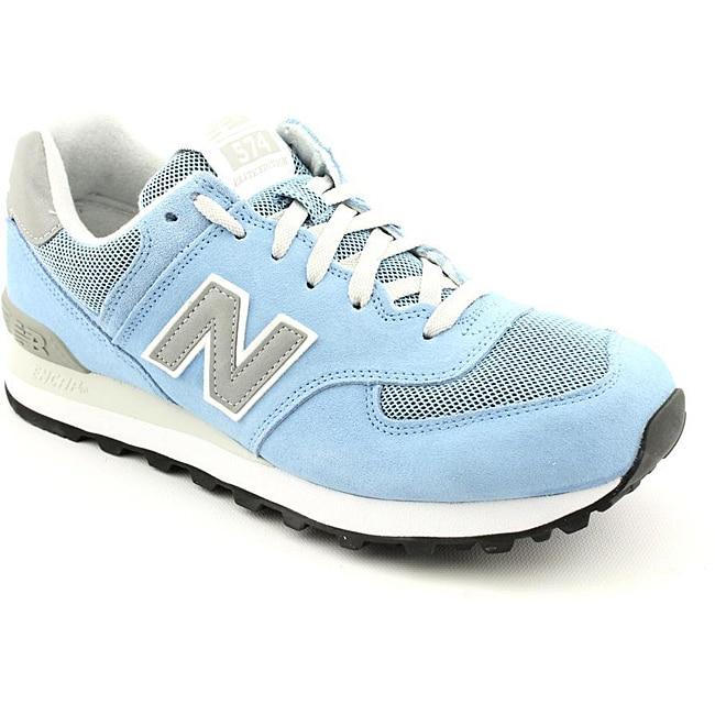New Balance Men's ML574 Blue - Light Casual Shoes