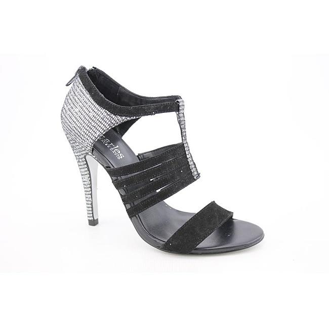 Charles By Charles David Women's Glitz Silver Sandals