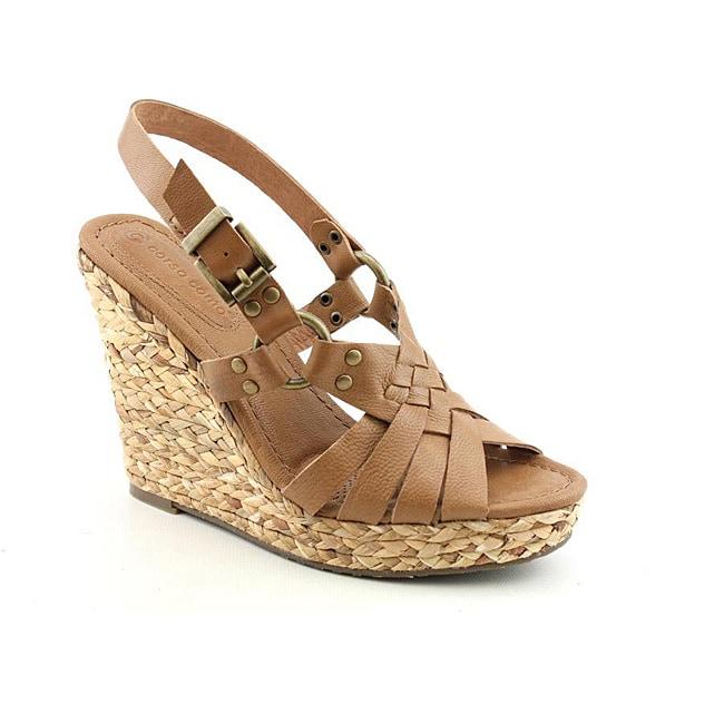 Corso Como Women's Diver Tan Sandals