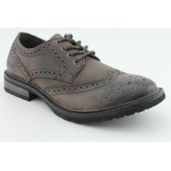 Steve Madden Men's Macreen Brown - Dark Dress Shoes