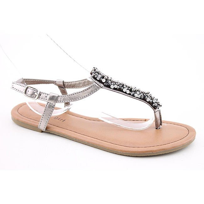 Madden Girl Women's Mikahh Silver Sandals