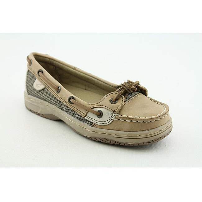 Sperry Top Sider Girl's Angelfish Beige Casual Shoes
