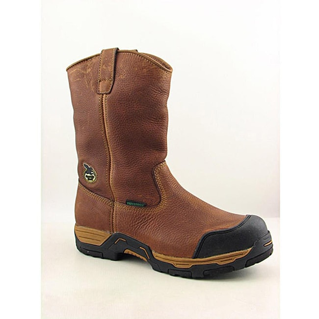 Georgia Men's Diamond Trax Brown Boots
