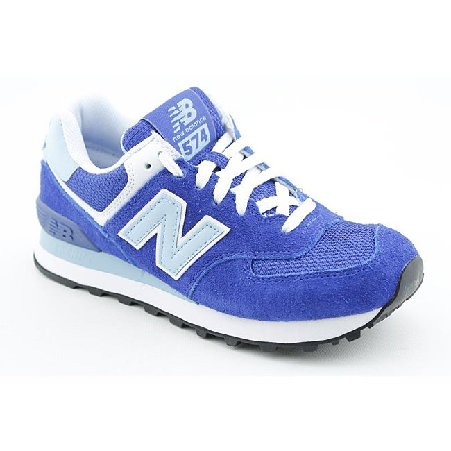 New Balance Women's WL574 Blue Casual Shoes