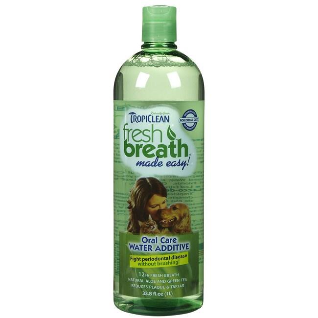 Tropiclean Fresh Breath Water Additive 33.8 ounces