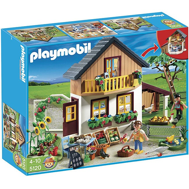Playmobil Farm House with Market