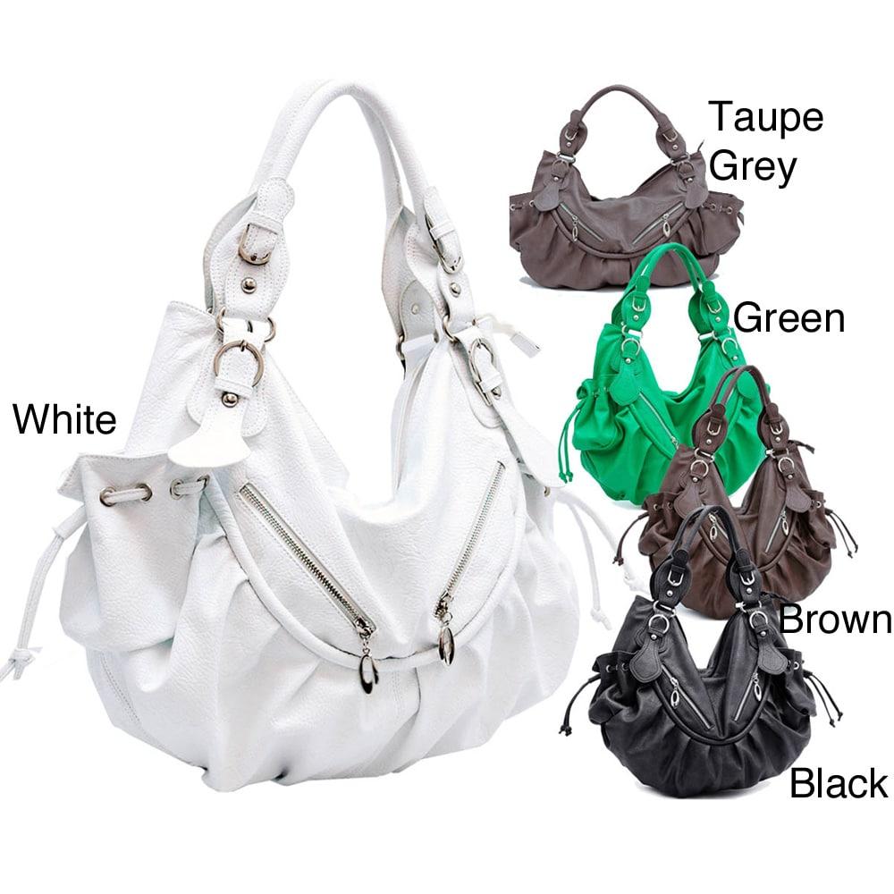 Dasein Slouchy Hobo Bag