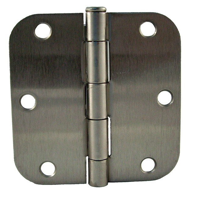 GlideRite 3.5-inch x 5/8-inch Satin Nickel Door Hinges (Pack of 12)