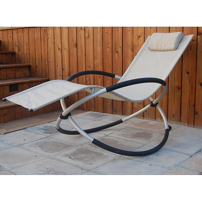White Orbital Chair