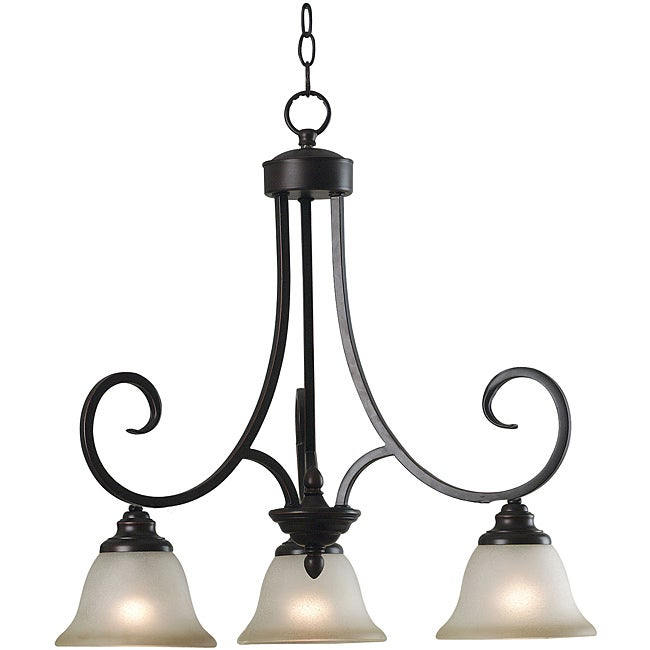 Shop Welles 3 Light Chandelier Free Shipping Today Overstock 6772118