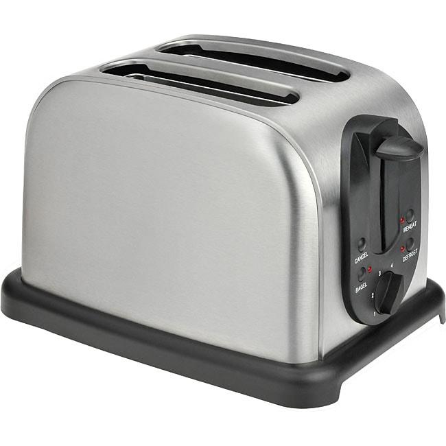 Kalorik 2-slice Stainless Steel Toaster (Refurbished)