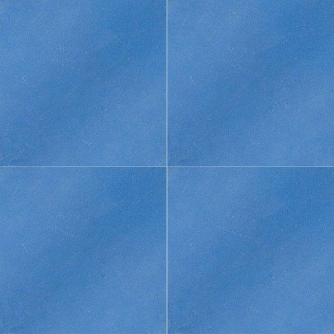 Granada Tile Echo Collection Blue Cement Tile (Case of 50)
