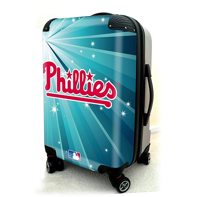 Philadelphia Phillies 20-inch Expandable Hardside Spinner Carry-on Upright