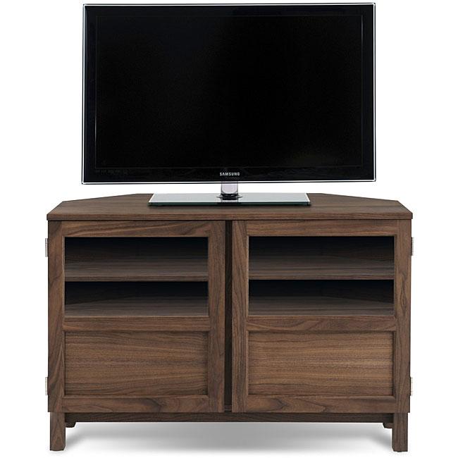 Jesper Office Walnut Corner TV Cabinet