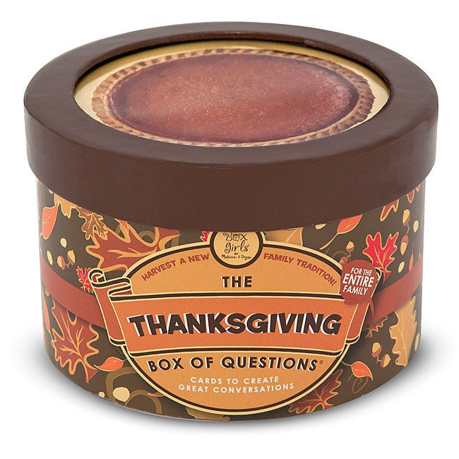 Melissa & Doug Thanksgiving Box of Questions Trivia Card Game