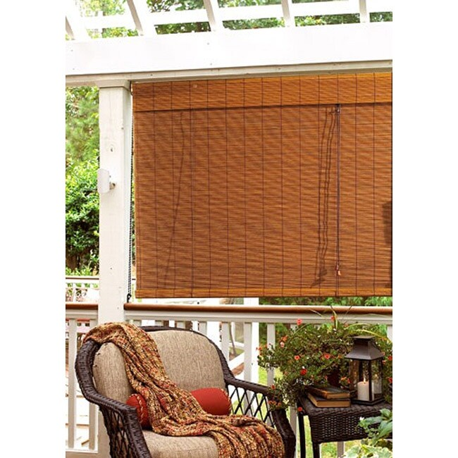 Imperial Fruitwood 48x72-inch Matchstick Blind