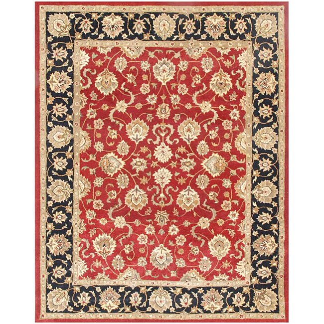 "JRCPL Hand Tufted Wool Rug (2' 6"" X 8')"