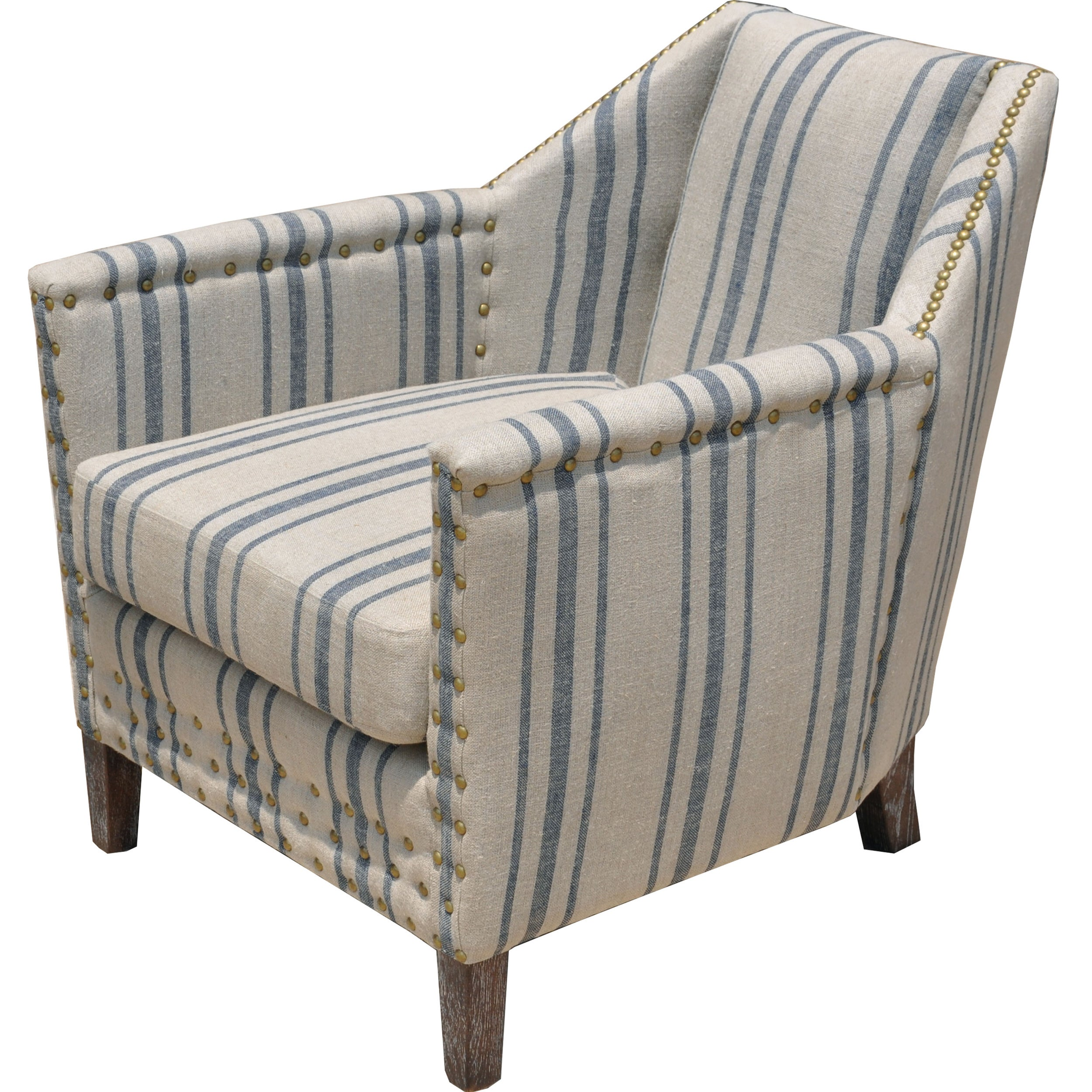 Carla Linen Lounge Chair