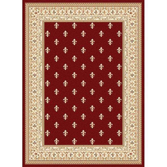 Soho Red Transitional Rug (7'10 x 10'3)