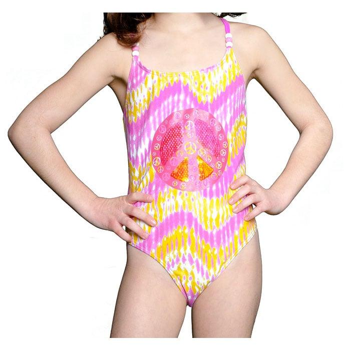 Lisabelle Girls' 'Heat Wave' One-piece Swimsuit