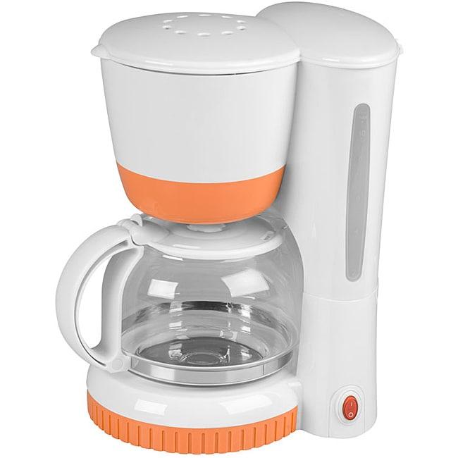 Kalorik Tangerine Refurbished 8-cup Coffee Maker
