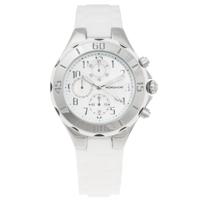 Monument Women's Rubber Strap Sporty Watch