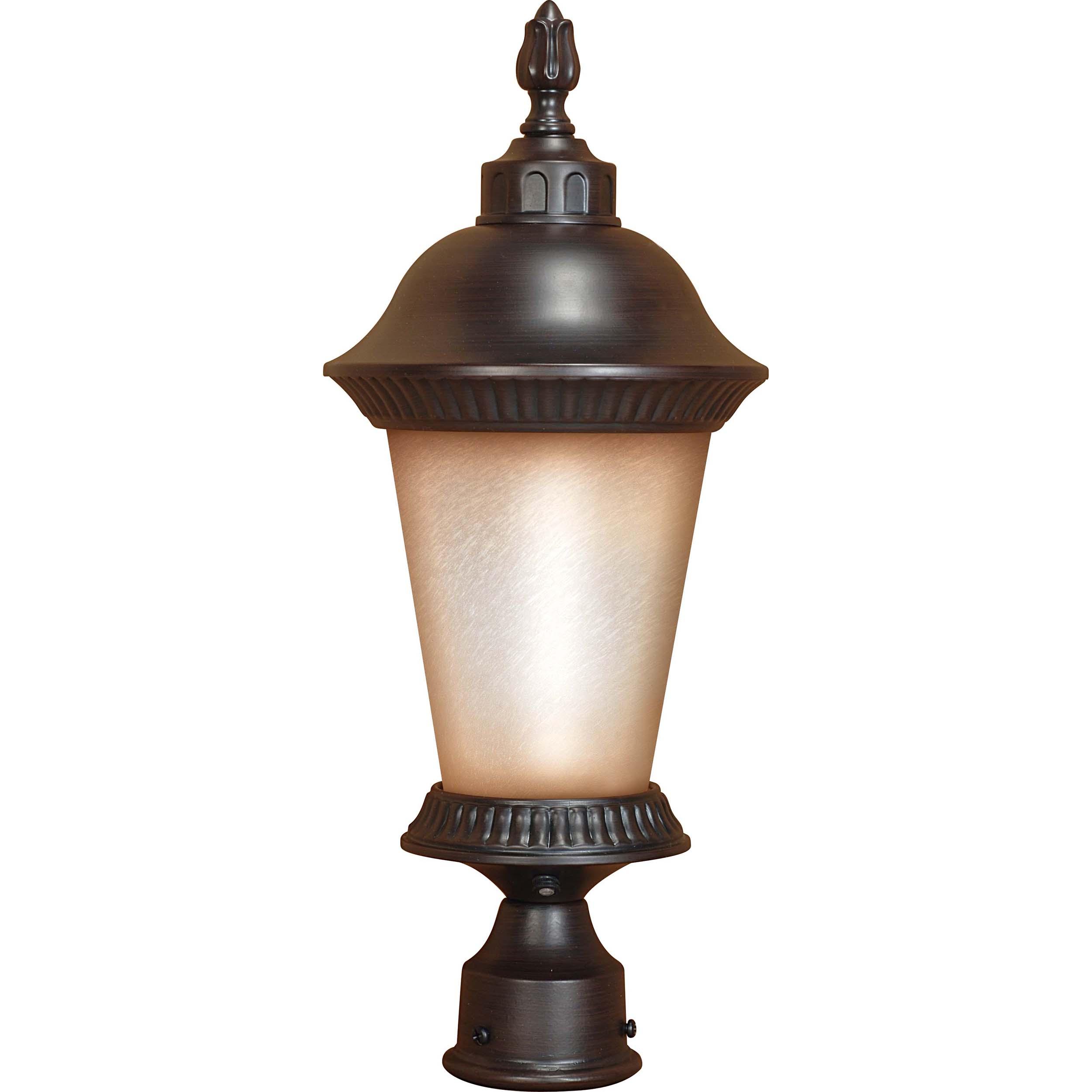 Clarion 1-light Chestnut Bronze Post Lantern