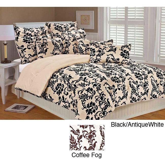 Leslie Microplush 3-piece Comforter Set