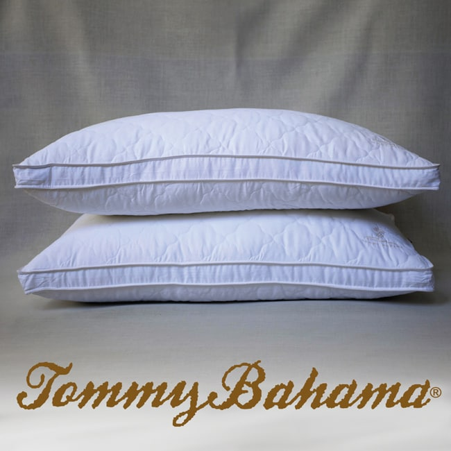 Tommy Bahama Down Alternative King Size Pillows Set Of 2