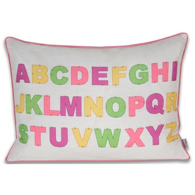 ABC 16x22-inch Bright Pillow