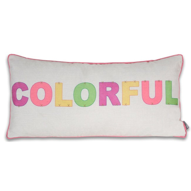 Colorful 12x24-inch Pillow