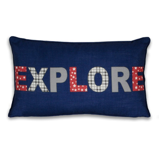Explore 12x20-inch Pillow