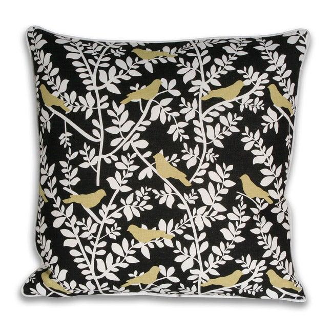 Clarabelle Birds Decorative Pillow