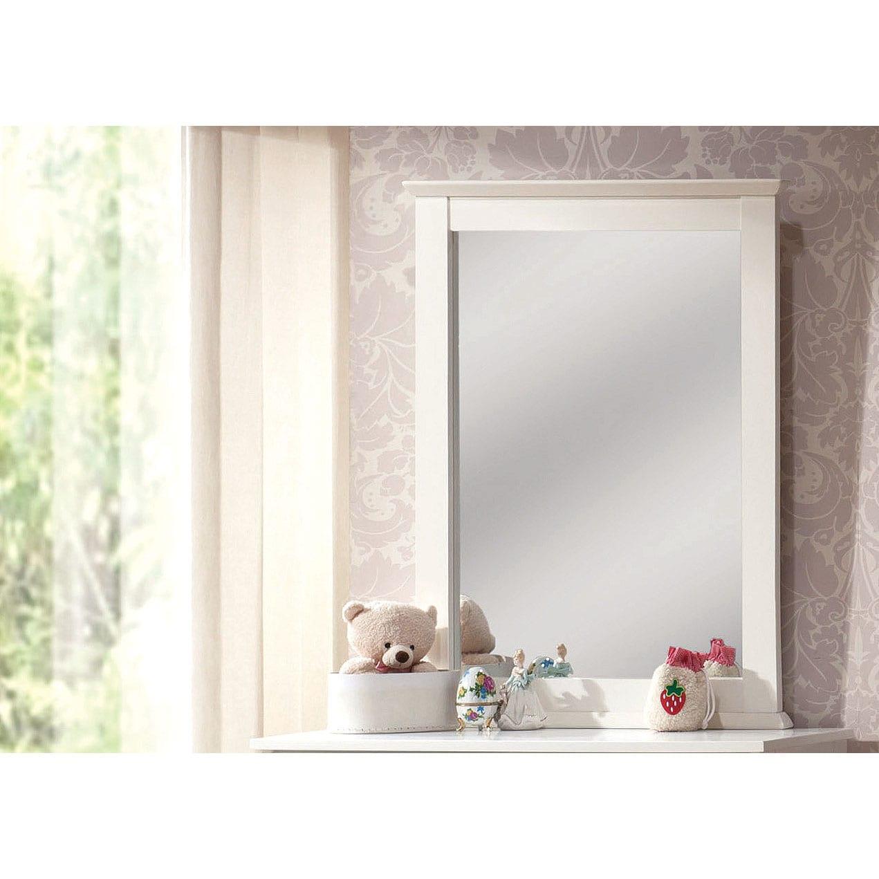 White Bungalow Mirror