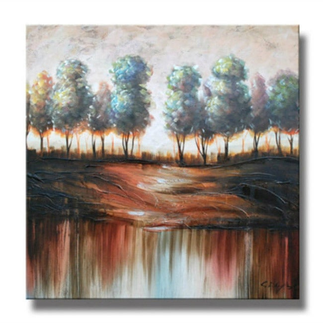 'Path Less Taken' Canvas Art
